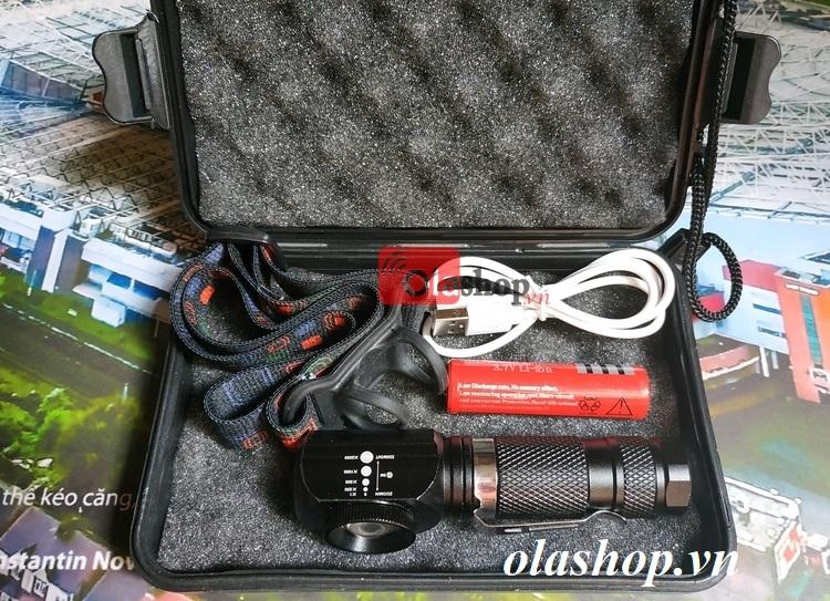 Đèn pin đa năng Cree T6 Full box
