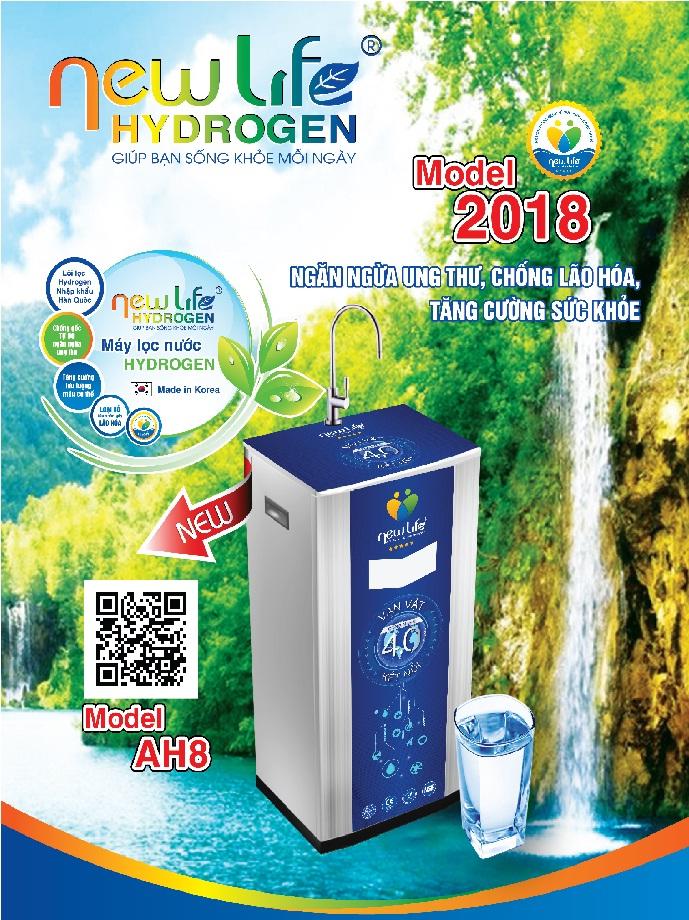 Máy lọc nước Hydogen New Life 9 cấp lọc
