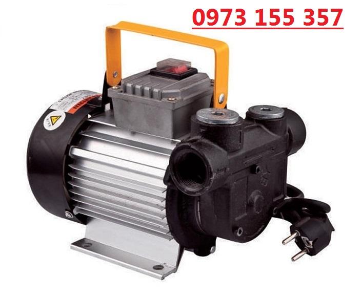 Bơm dầu diesel NYB-60B AC, máy bơm dầu nhớt 220V, máy bơm dầu diesel 60 lít/phút
