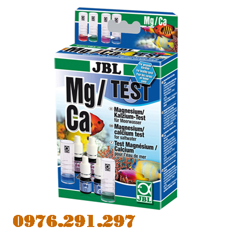 Hộp test Mg/ca và hộp test Kali