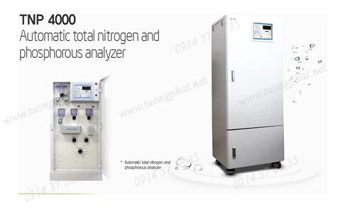 Máy phân tích Nitơ và Photpho tự động TNP 4000