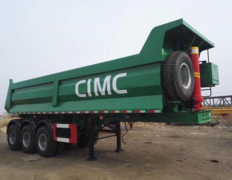 Rơ mooc ben tự đổ CIMC - Tải trọng 29 tấn