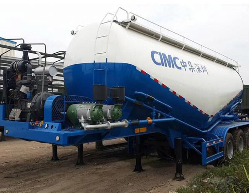 Rơ mooc xi réc chở xi măng rời CIMC - 30 khối