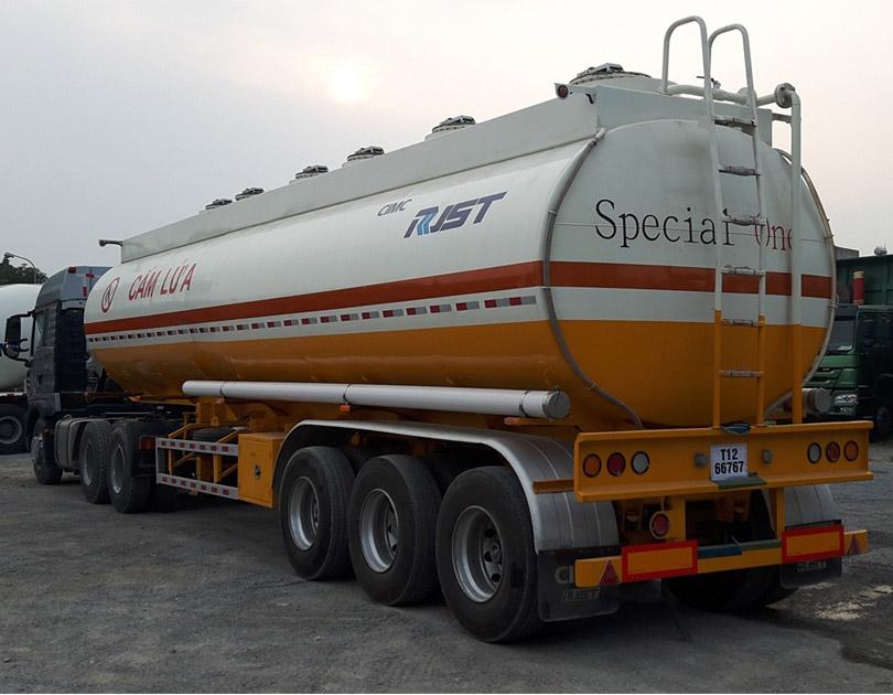 Rơ mooc xi téc chở xăng dầu CIMC - 40 khối