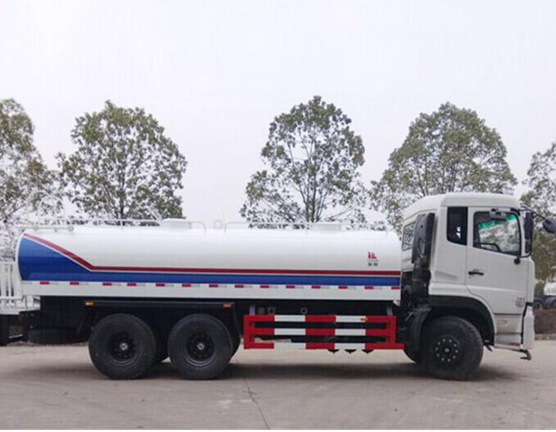 Xe téc phun nước rửa đường DONGFENG 13 khối