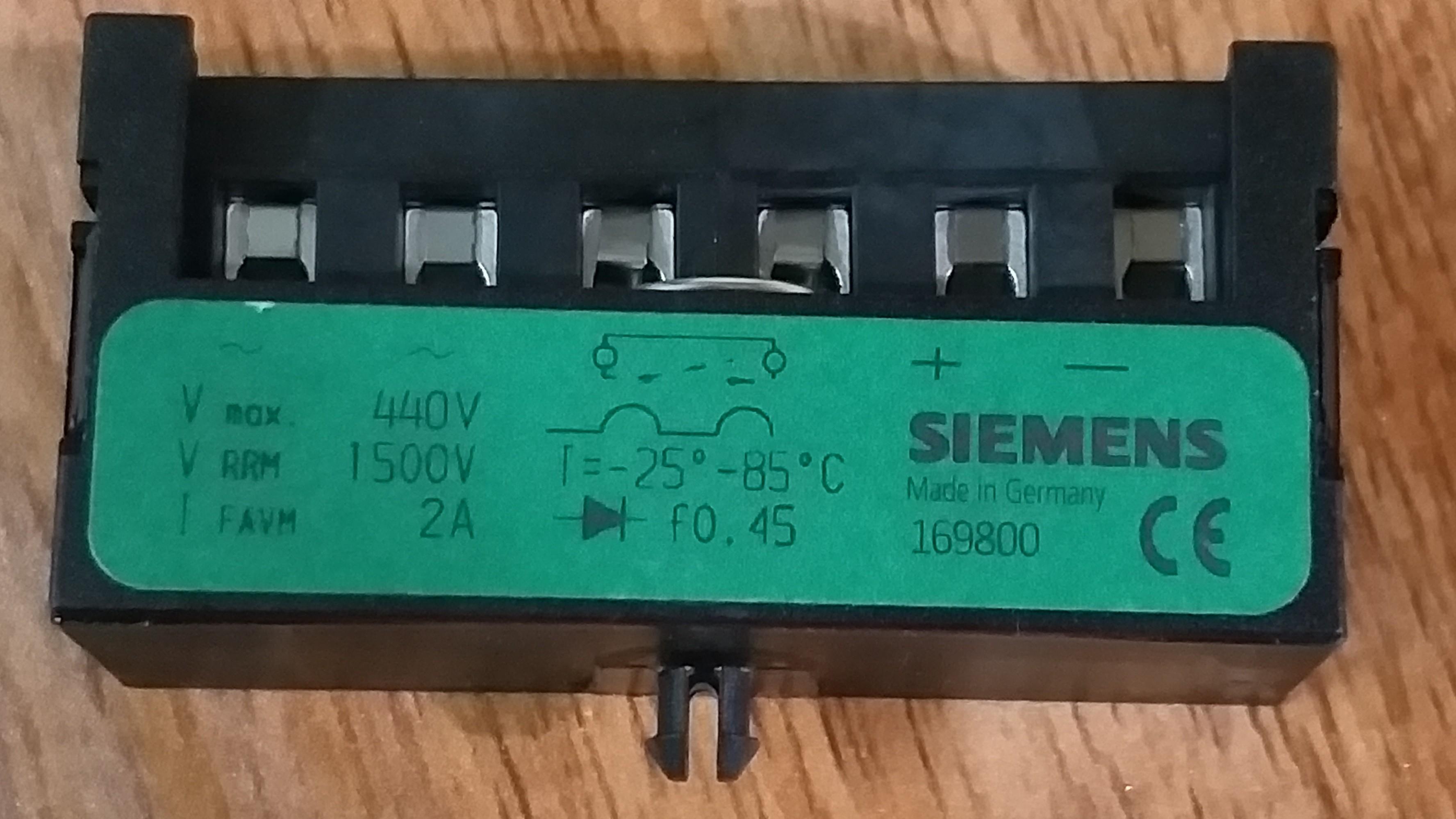 Đi ốt phanh hiệu Siemens