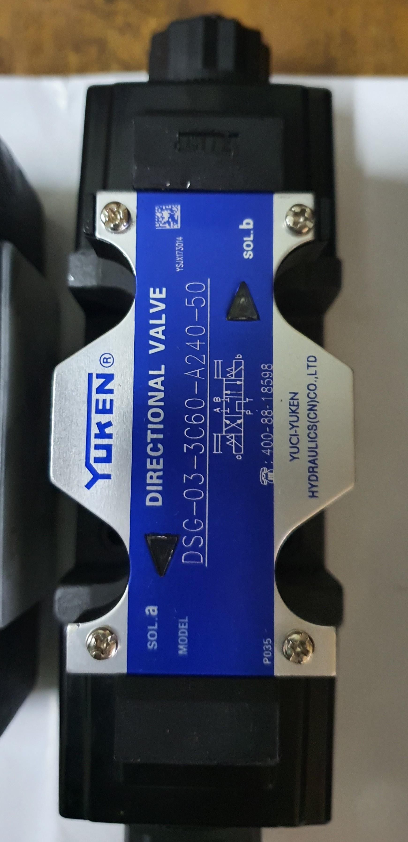 Van thủy lực điện từ Yuken DSG-03-3C60-A240