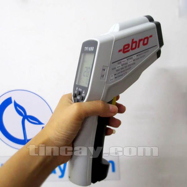 Máy đo nhiệt độ hồng ngoại Ebro TFI 650