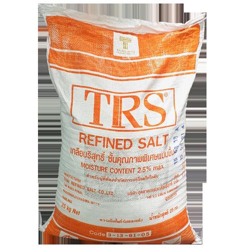 Vật liệu lọc nước - Muối công nghiệp 99.5% hãng TRS
