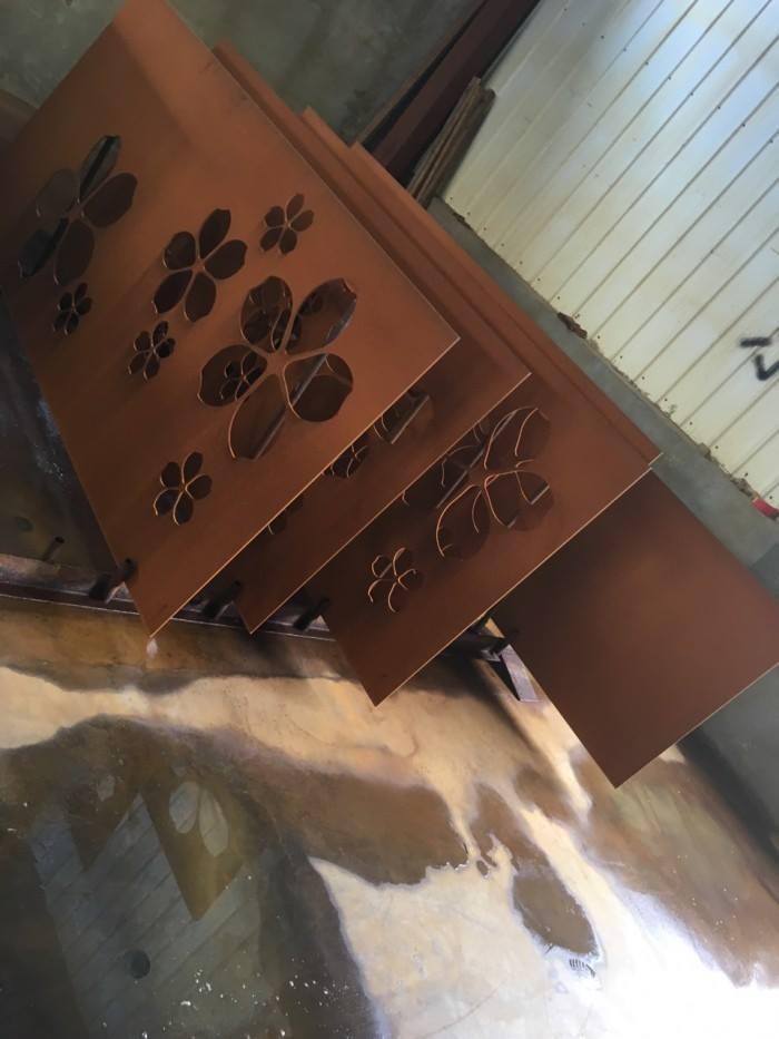Thép corten - sản phẩm mới cho ngành nội thất, trang trí, kiến trúc