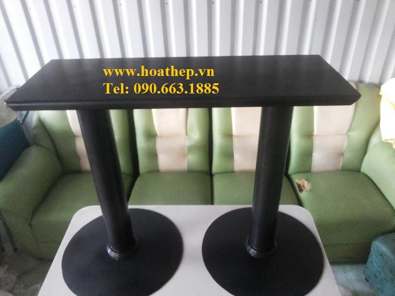 Nhận sản xuất chân bàn cà phê, chân bàn sắt, inox