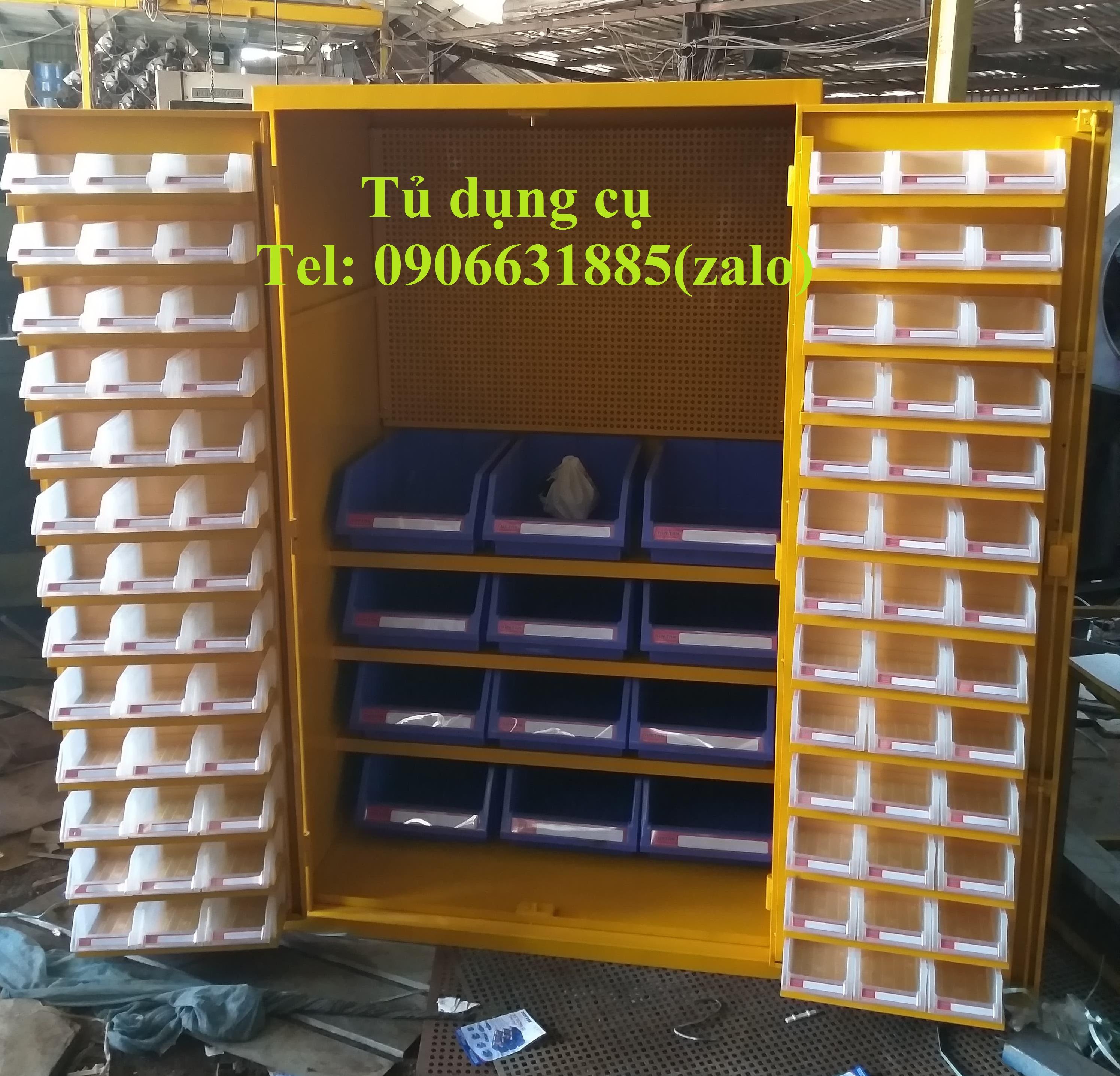Tủ dụng cụ, tủ đựng đồ nghề cơ khí