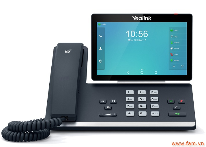 Điện thoại video phone YEALINK SIP-T58A