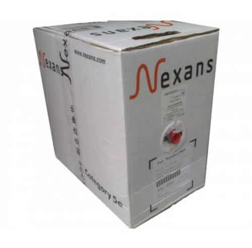 Cáp mạng Nexans Essential U/UTP CAT5e 0,5MM PVC cable