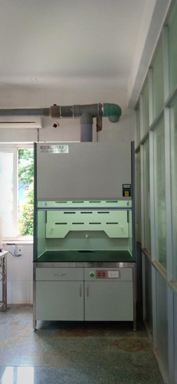 Tủ hút khí độc chịu acid, tủ phá mẫu acid