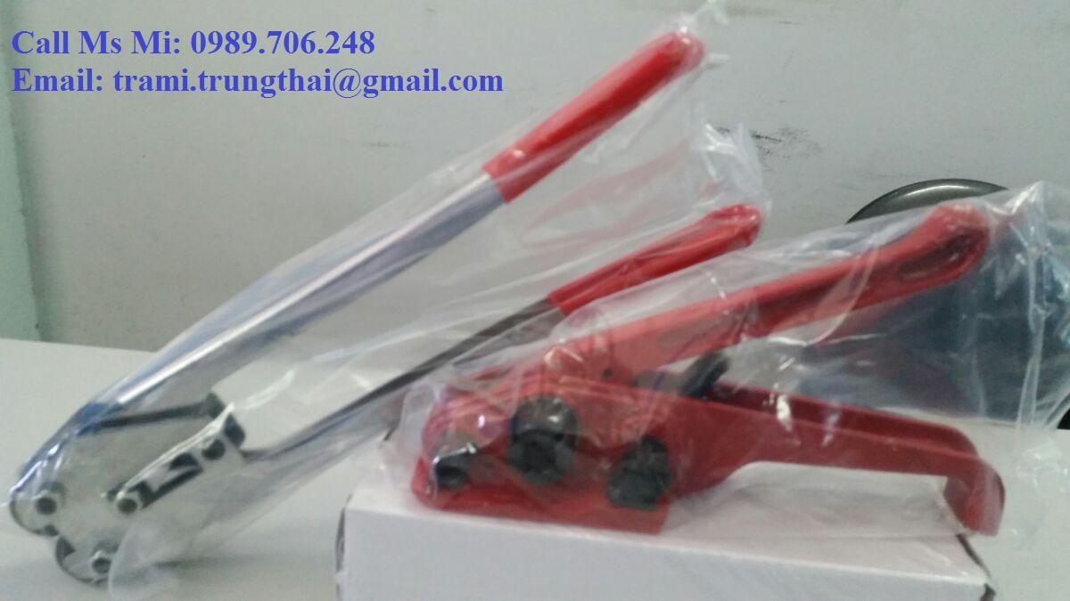 Bộ tăng siết rút đai nhựa bằng tay H19 và S19