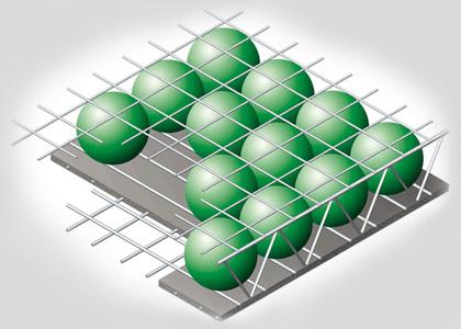 Công nghệ sàn bóng với thép định vị SPAN