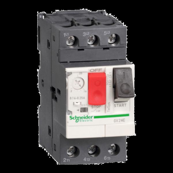 Aptomat MCB báo vệ động cơ– TESYS GV SCHNEIDER ELECTRIC
