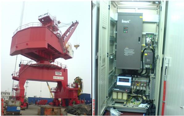 Biến tần chuyên dụng cho cầu trục CHV190