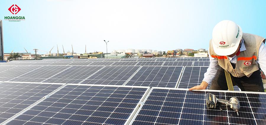 Hệ thống điện mặt trời hòa lưới 30 kW tại Hải Phòng