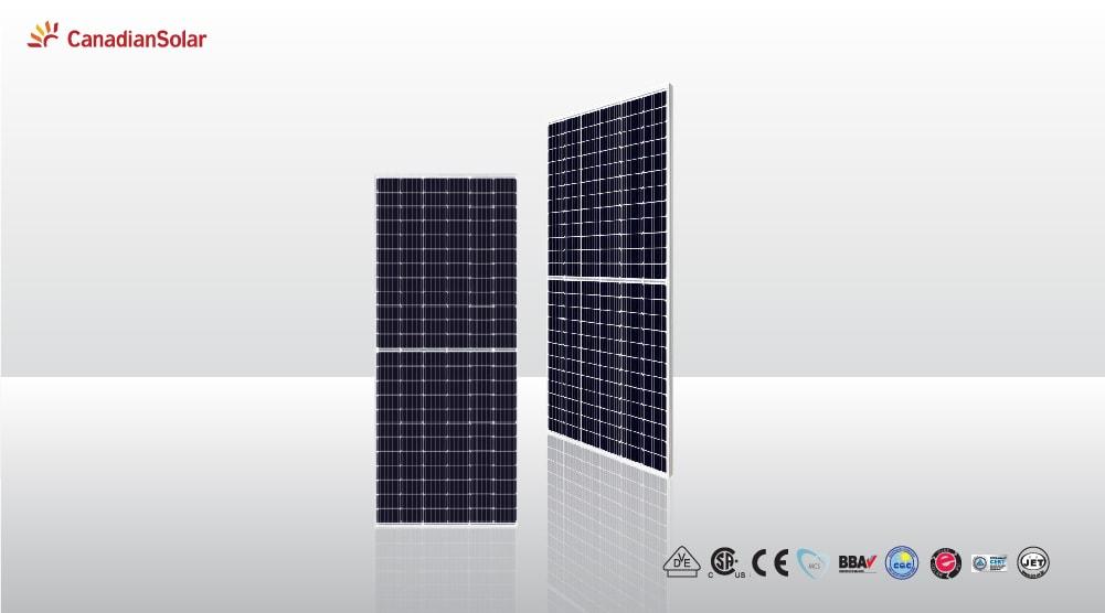 Tấm pin Canadian Solar Mono 445W HiKu