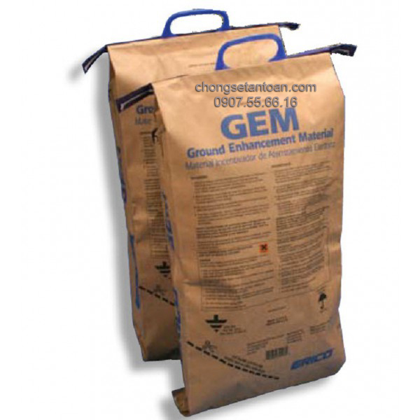 Hóa chất giảm điện trở đất GEM 25A (Mỹ)
