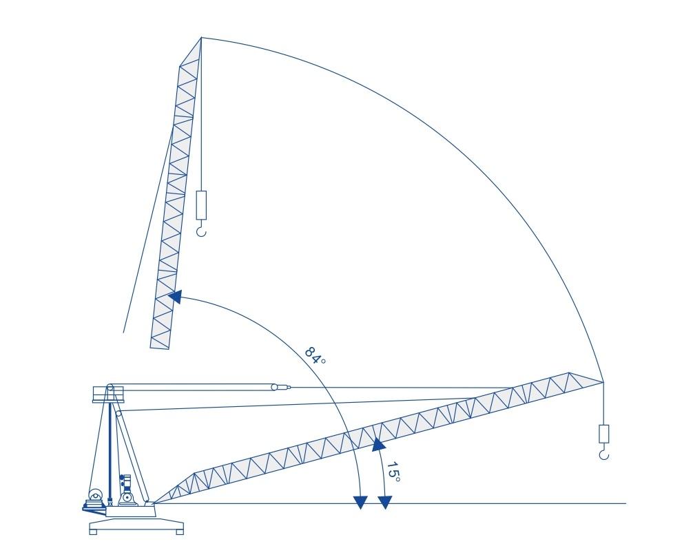 Cần cẩu tháp QDC3023