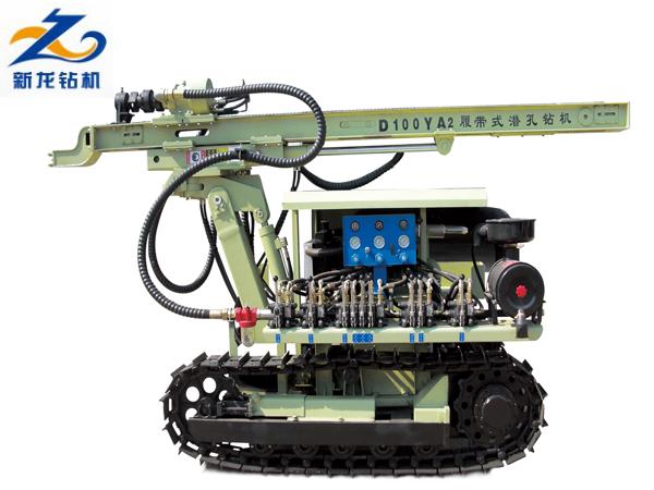 Máy khoan thủy lực bánh xích CTQ-D100YA2