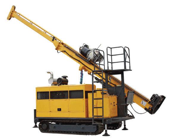 Máy khoan lõi thủy lực đầy đủ với bánh xích, địa chất, khai thác HYDX-5A