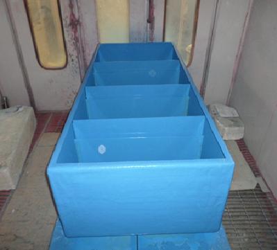 Bể vuông nuôi thủy sản theo yêu cầu