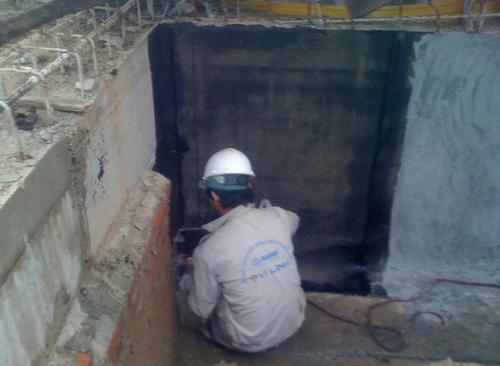 Dịch vụ chống thấm cho Hố pit thang máy