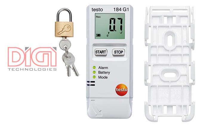 Máy đo ghi nhiệt độ, độ ẩm, độ shock testo 184 G1