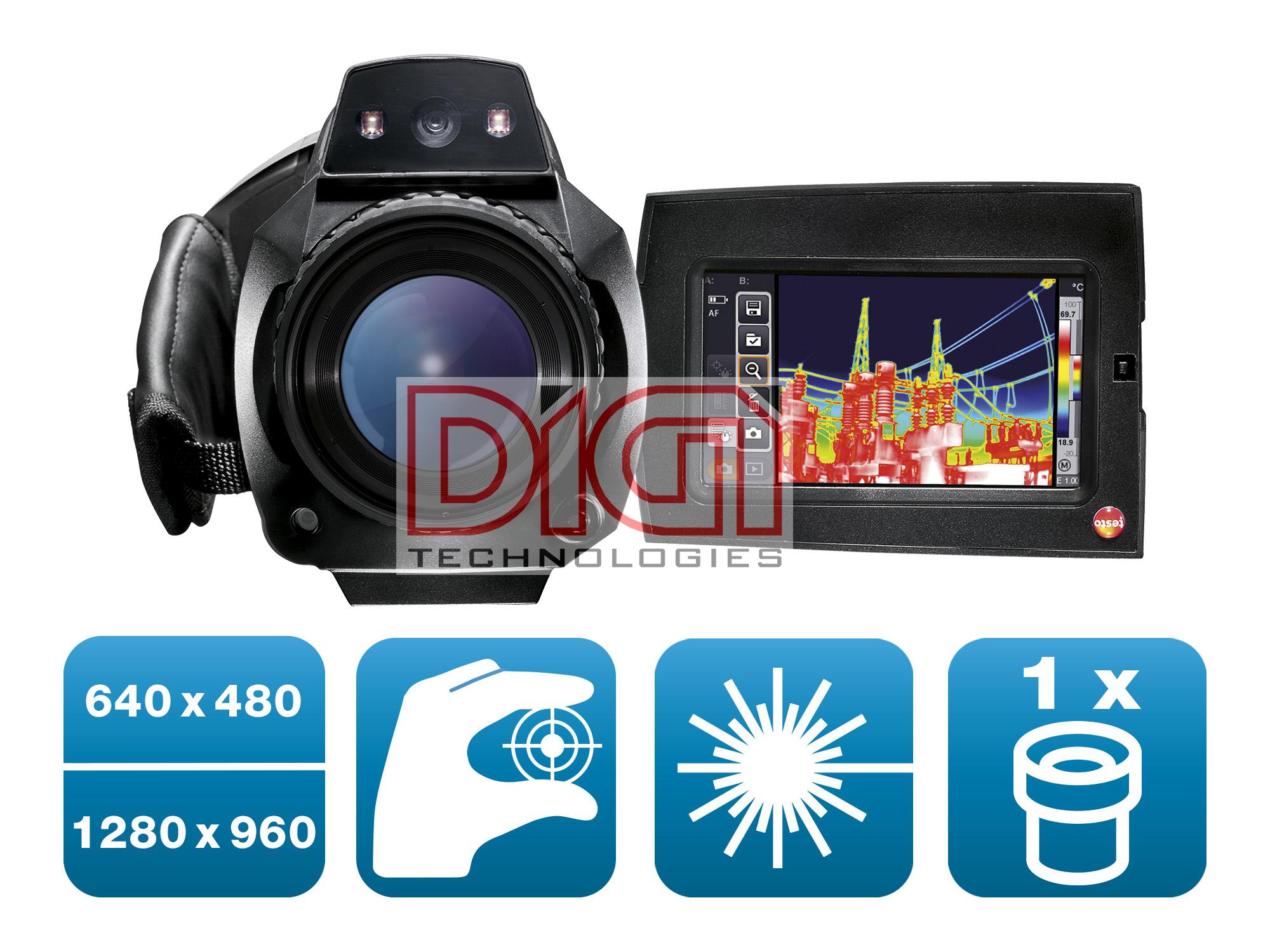 Máy chụp ảnh nhiệt - testo 890