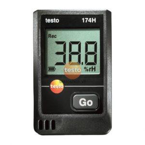 Máy đo ghi nhiệt độ, độ ẩm Testo 174H