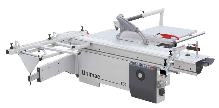 Máy cưa bàn trượt - Unimac F80