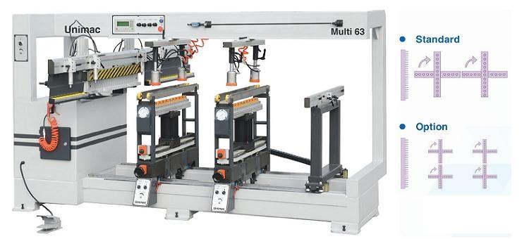 Máy khoan liên kết Unimac Multi 63