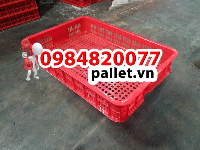 Sọt nhựa hở 2T5 giá rẻ - Pallet nhựa Việt Nhật