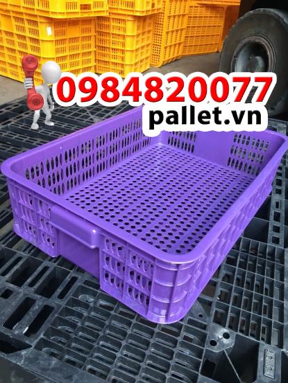 Sóng hở 1T5 giá rẻ - Thùng nhựa Việt Nhật