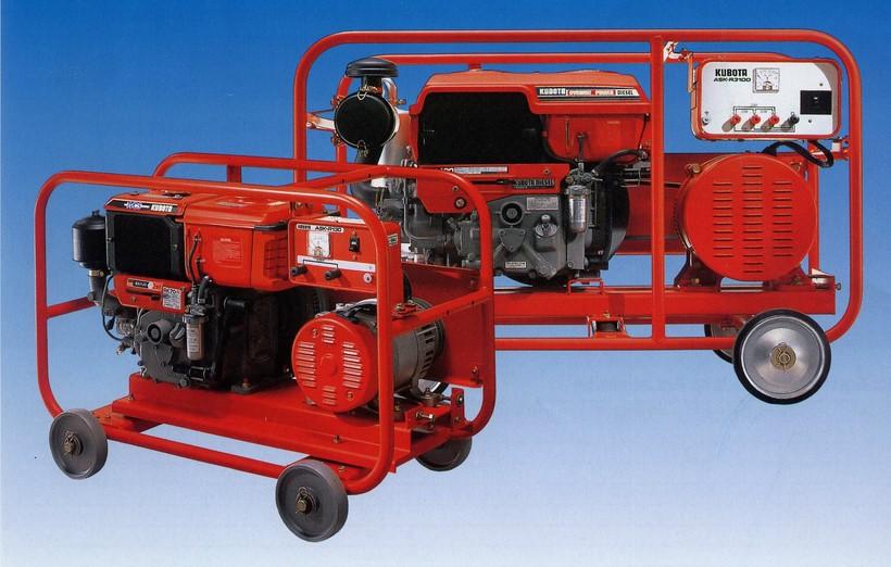 Máy phát điện Kubota ASK-R3100