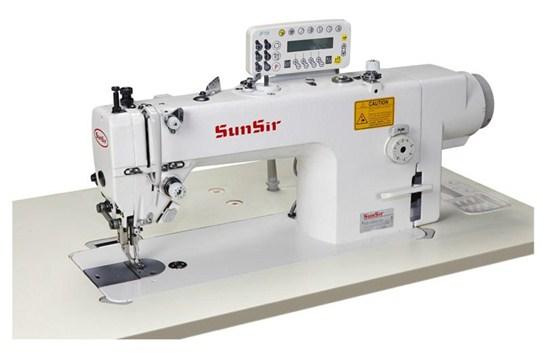 Máy 1 kim chân vịt bước điện tử cắt chỉ tự động SUNSIR SS-H303-D3