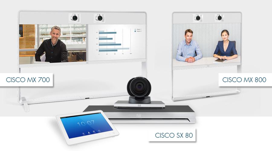 Thiết bị hội nghị truyền hình tích hợp CISCO TelePresence MX800 Dual