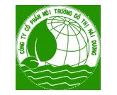 Công ty cổ phần môi trường đô thị Hải Dương