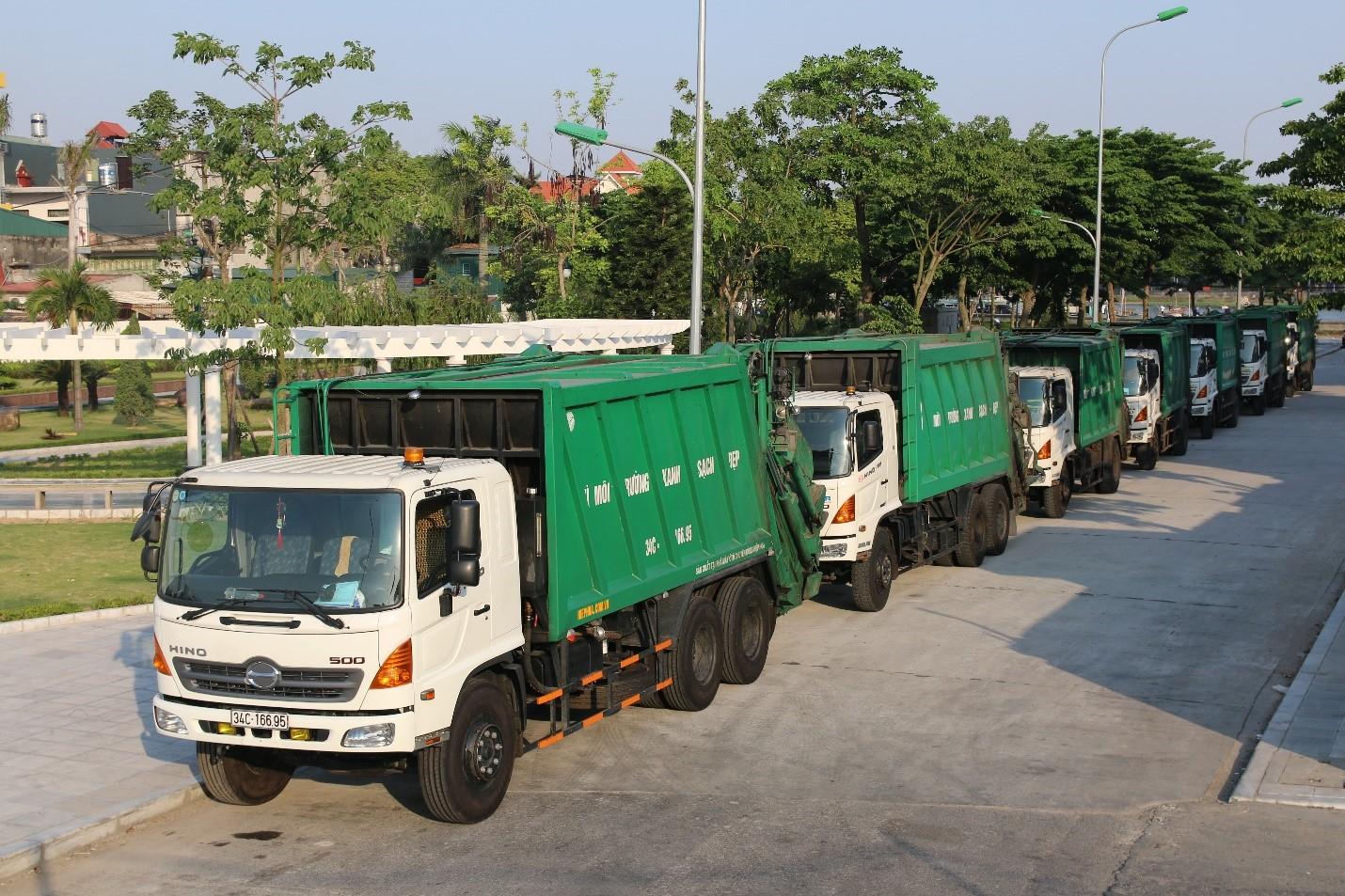 Thu gom vận chuyển và xử lý rác công nghiệp thông thường