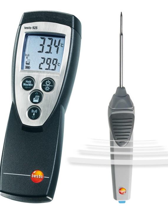 Thiết bị đo nhiệt độ Testo 925