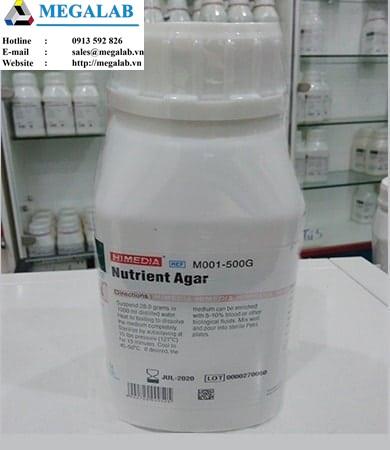 Nutrient Agar | Code: M001-500g | Himedia - Ấn Độ