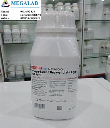 Xylose-Lysine Deoxycholate Agar | Code: M031-500g | Himedia - Ấn Độ