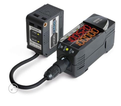 Bộ khuếch đại cảm biến Lazer OMRON thông minh CMOS ZX2-LDA11 2M