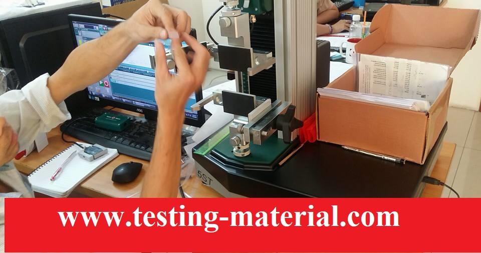 Máy kiểm tra độ bền kéo đứt Plastic ASTM D638