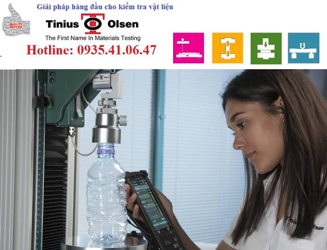Máy kiểm tra độ bền nén chai nhựa PET model 5ST Tinius Olsen