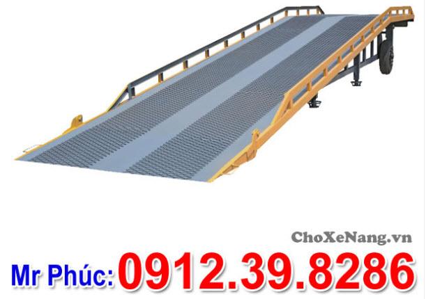 Cầu lên container 6 tấn 8 tấn 10 tấn